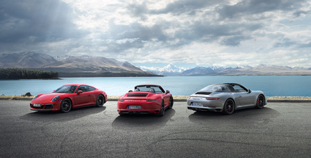 The new 911 GTS models. Driven for more.